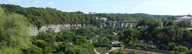 Каменец-Подольский. Новоплановский мост