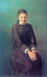 Н. А. Ярошенко. Курсистка. Холст, масло. 1883