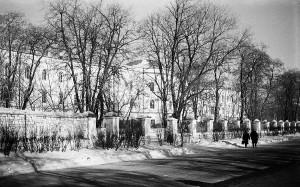 Каменец-Подольский. Здание бывшей губернской земской больницы
