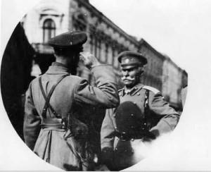 Командующий 9-й армией генерал от инфантерии П. А. Лечицкий