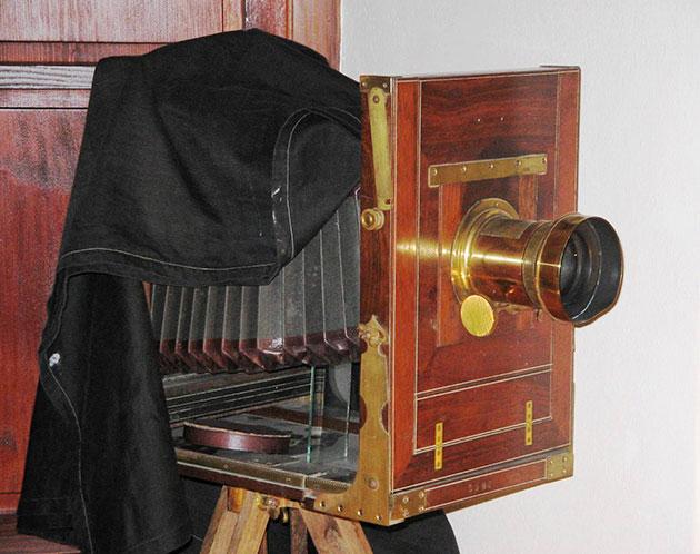 Фотоаппарат XIX века