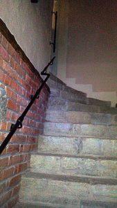 Дом на улице Доминиканской. Подвалы. Боковая лестница