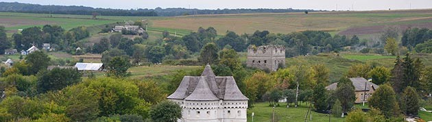 Руины резиденции Грабянки в Сутковцах