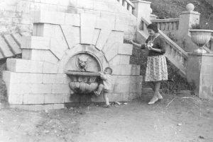 Каменец-Подольский. Городской парк. Прошлый век. У Лёвы. Фото из личного архива С. Сердюкова