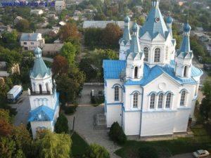 Георгиевская церковь. Вид сверху
