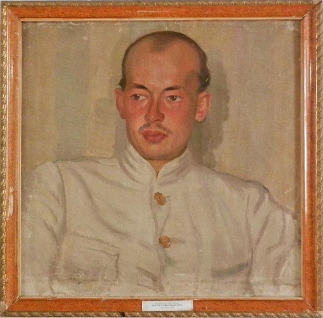Портрет Николая Жудина