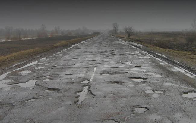 Украина. Дорога