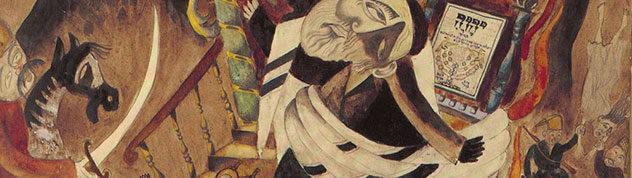 И.Рыбак. Погром в Киеве. 1919