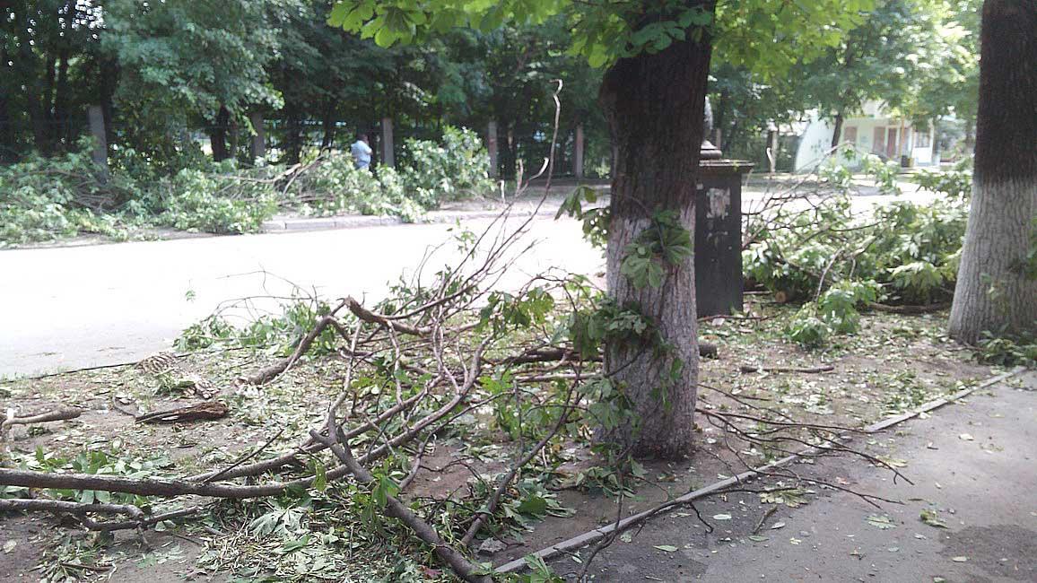 27.06.2017 года. Улица Леси Украинки