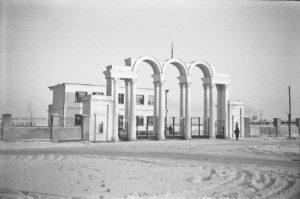 Центральный стадион в начале 60-х годов прошлого века. Фото Д. Ройзена