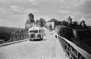 Замковый мост. Начало 60-х годов прошлого века. Фото Д. Ройзена