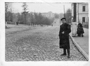 Каменец-Подольский.  Улица Шевченка. Декабрь 1951 года