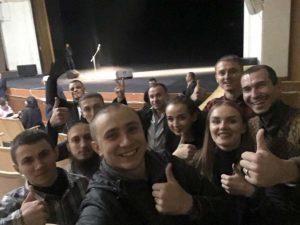 17.11.2017 г. Одесса. Спектакль сорван успешно!
