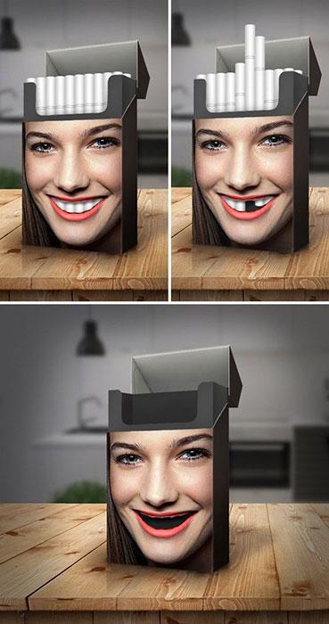 Зубы курильщицы. Автор Miroslav Vujovic Graforidza