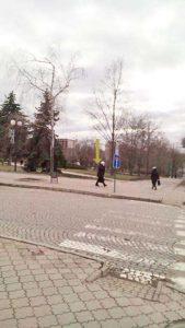 Каменец-Подольский. Здесь стоял павильон с тремя бочками черной икры. Фото Д. Ройзена. 2018 год