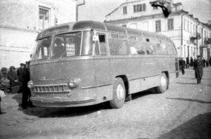 Каменец-Подольский. Автобусная станция на Котовского. 50-е прошлого века