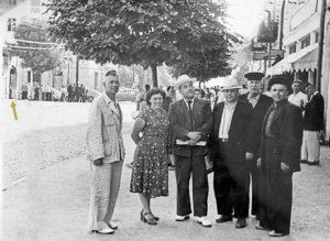 На ул. Котовского. Конец 50-х, начало 60-х прошлого века. Фото из личного архива А. Сутягиной(Рейда)