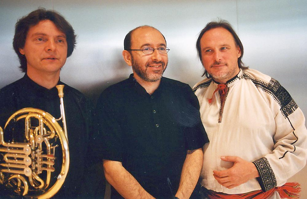 Аркадий Шилклопер, Михаил Альперин, Сергей Старостин. Начало 2000-х
