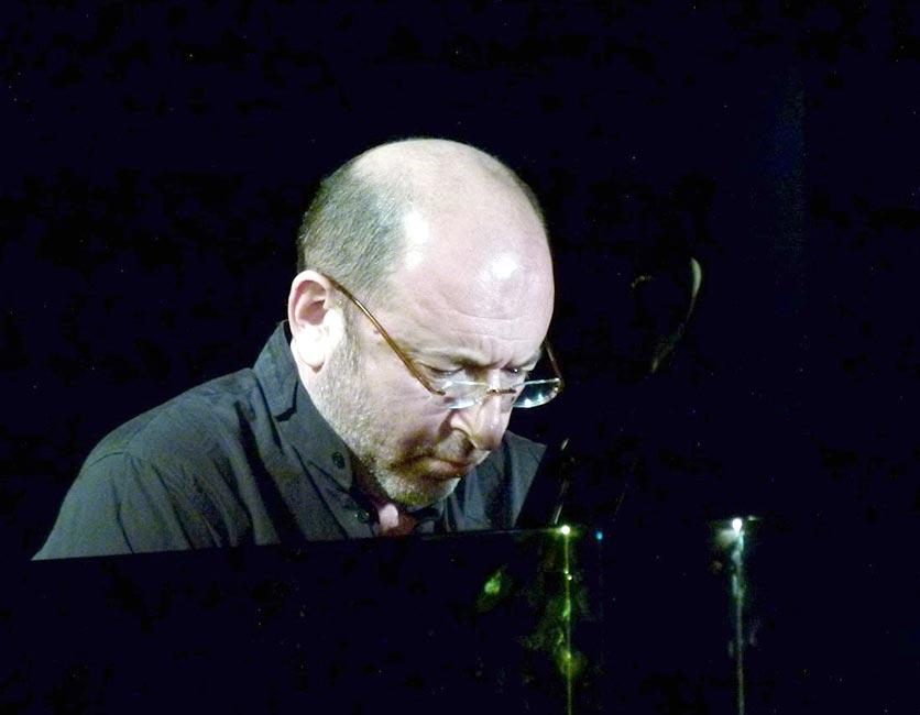 Михаил Альперин на фестивале «Джаз-Глобус». Иерусалим. 2011 (фото © Кирилл Мошков)