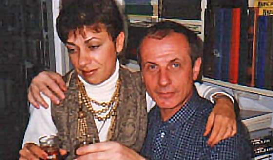 Михаил Веллер с супругой