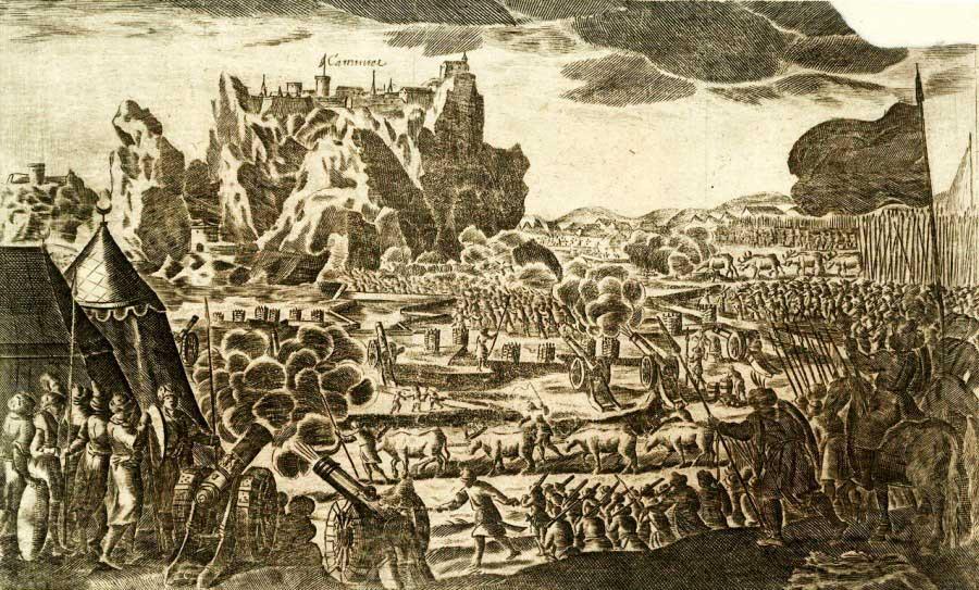 Осада Каменца в 1672 году. Медерит