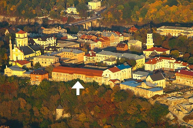 Каменец-Подольский. Францисканский монастырь. 2014 год