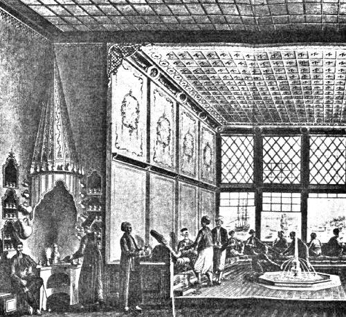 Османская кофейня XVII века