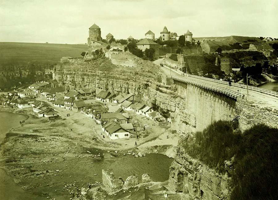 Место захоронения кареты. Фото 1914 года