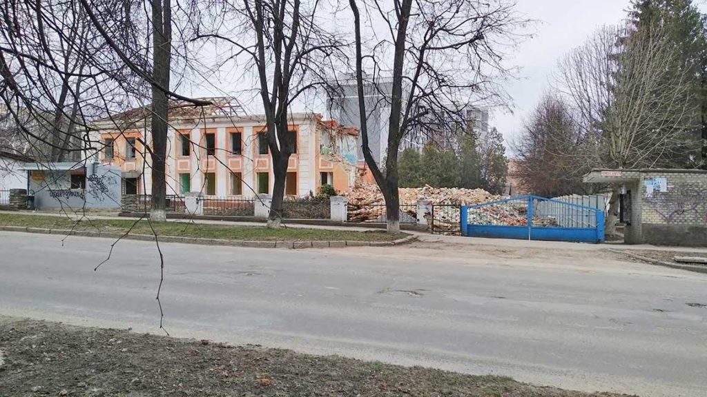 Каменец-Подольский. Бывшее здание водолечебницы