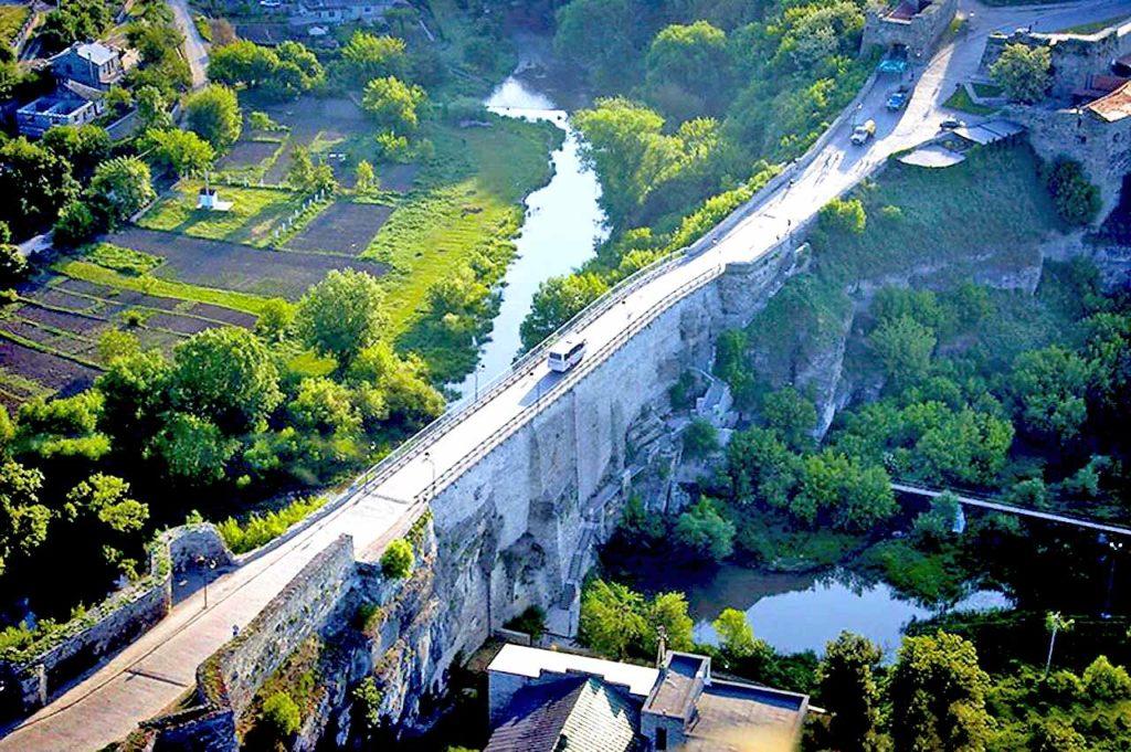 Каменец-Подольский. Замковый мост