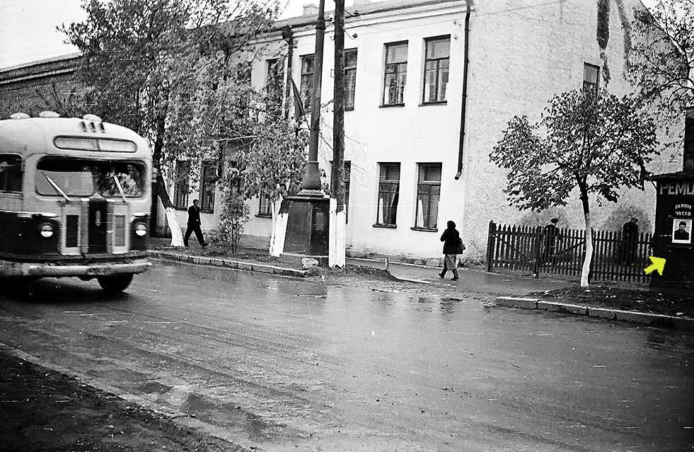 Каменец-Подольский. Ленинградская, 26. Фото Д. Ройзена. Начало 60-х прошлого века